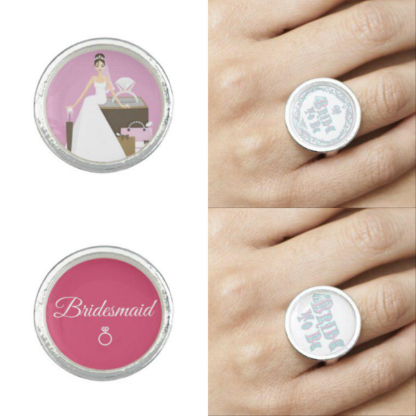 Bridal Shower Rings