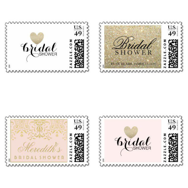 Bridal Shower Stamps