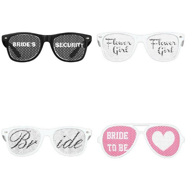 Bridal Shower Sunglasses