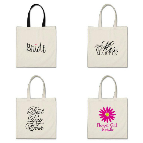 Bridal Shower Tote Bags