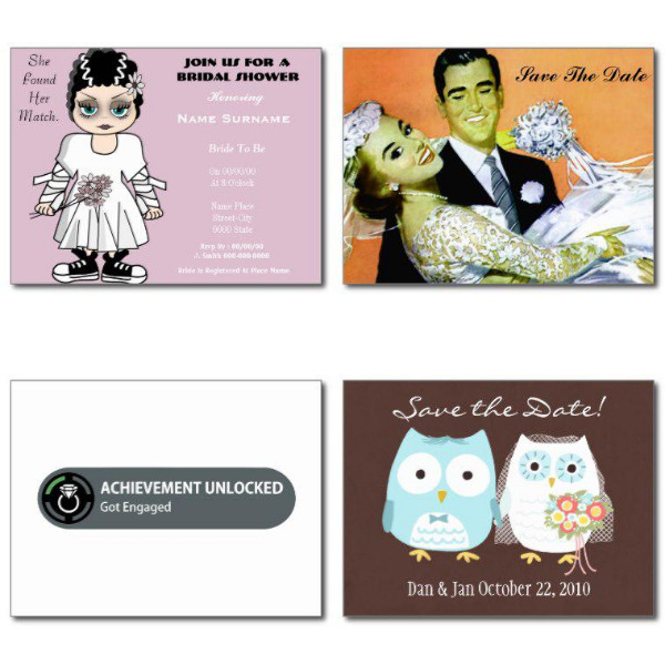 Silly Bridal Shower Invitations